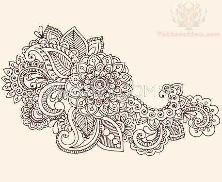 Interior Pictures Of Designs 50 paisley pattern tattoos designs flower tattoo design