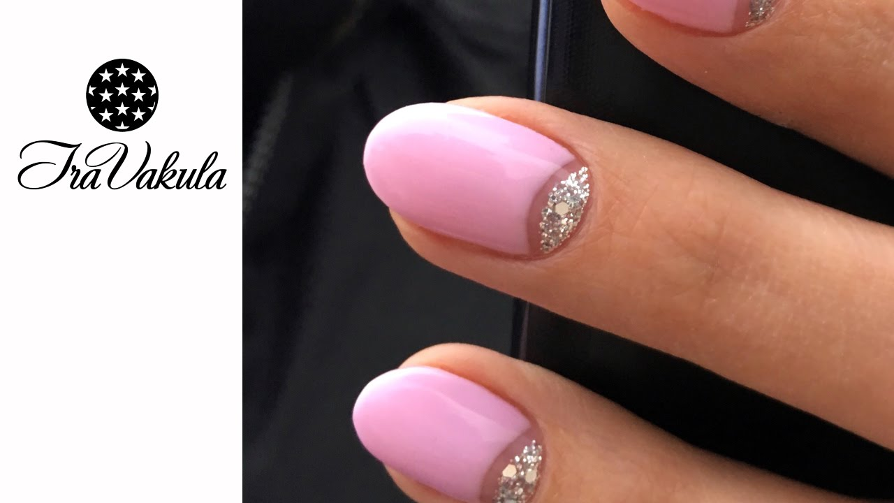 Pictures Of Pink And Silver Nail Art Kidskunstfo