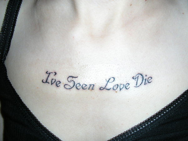 52 love quotes tattoos