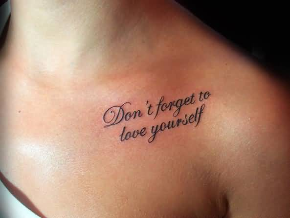 60 Love Quotes Tattoos Impressive Tattoo Quotes About Love