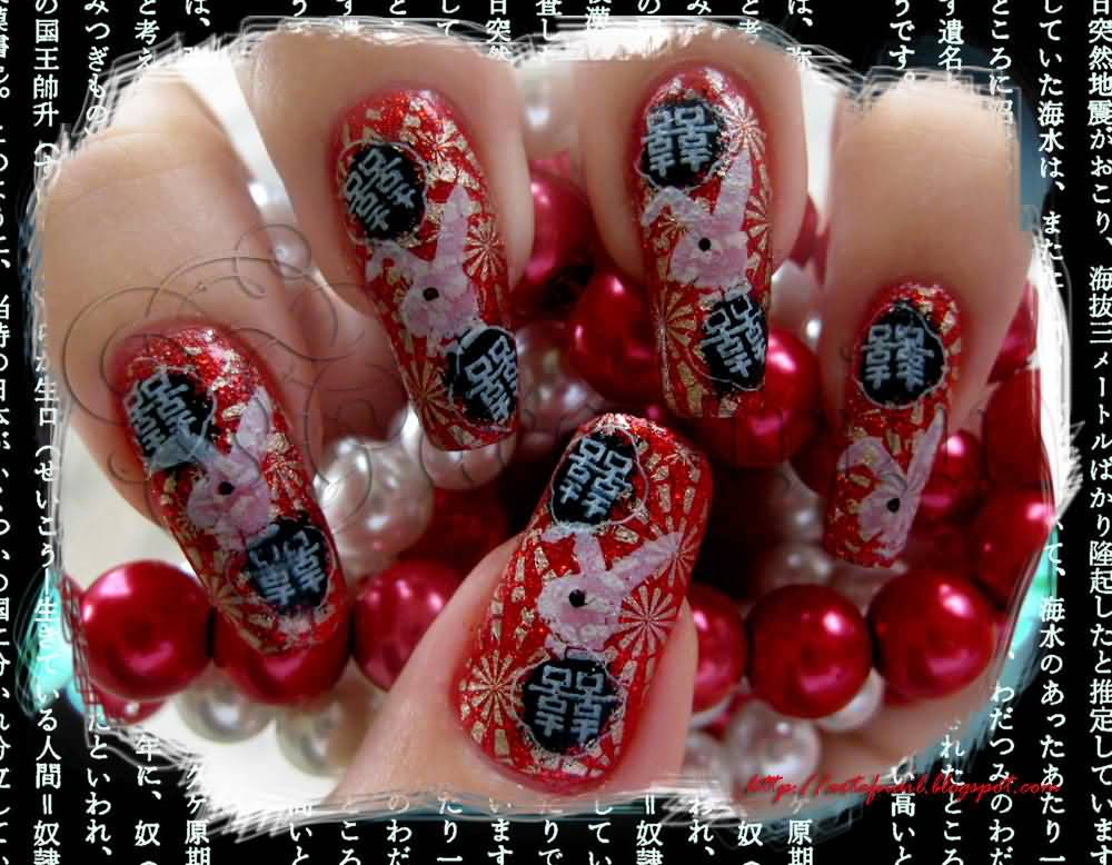 35+ Most Stylish Chinese Nail Art Designs