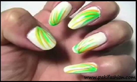 White And Green Nail Designs Best Nail Designs 2018