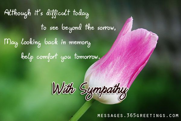 Sympathy Message Pictures And Photos