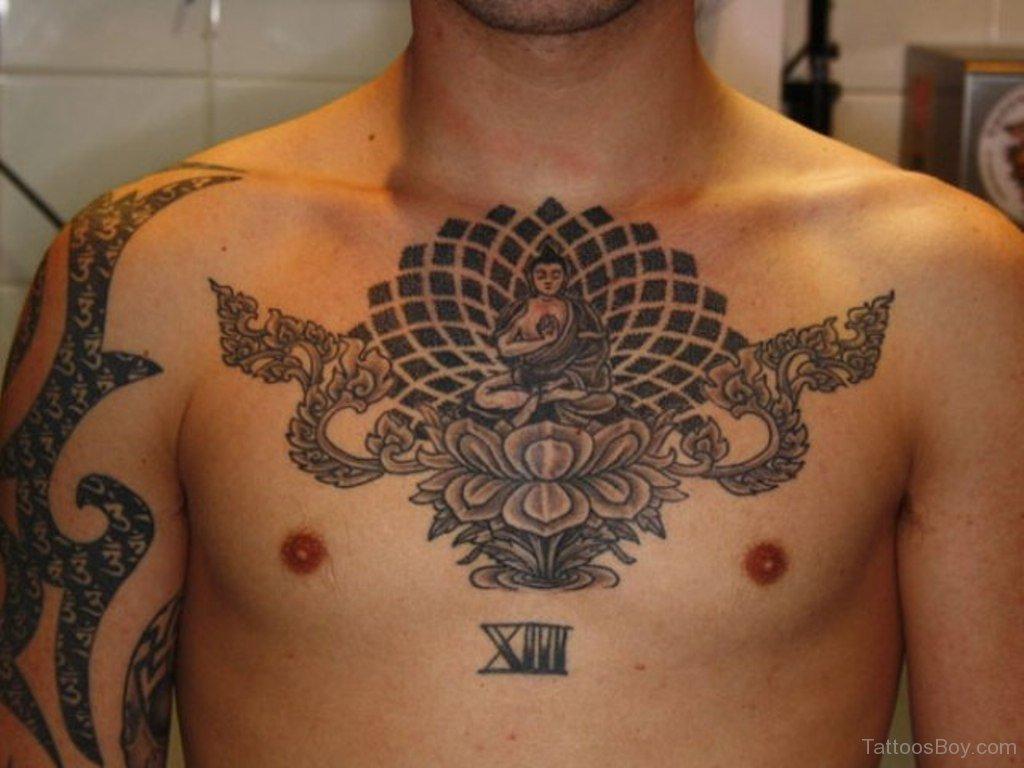 beautiful spiritual cross tattoo on arm