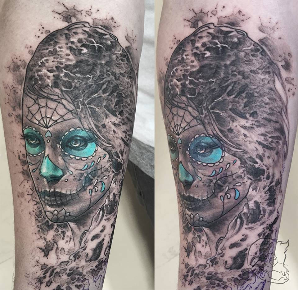 La catrina tattoo arm la catrina tattoo google search catrina pinterest la catrina tattoo and - Mexikanische totenmaske name ...
