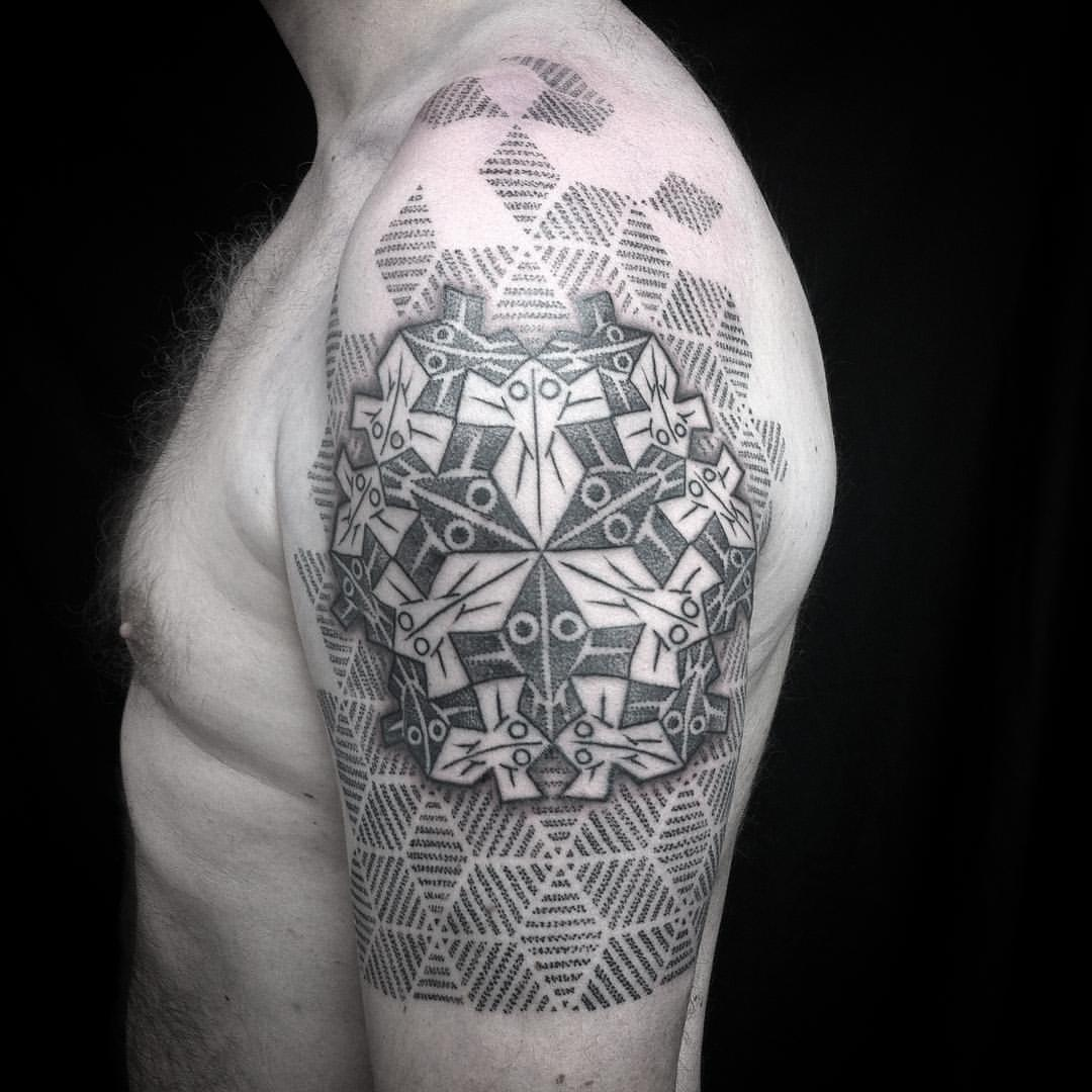 28 Escher Tattoo Designs