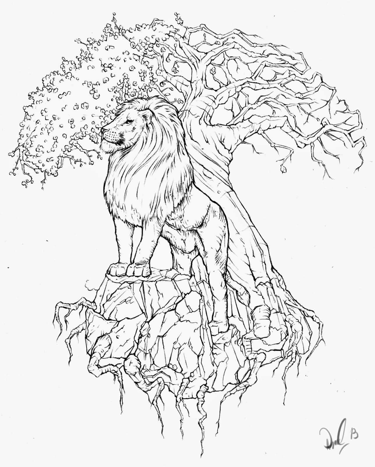 26 tree of life tattoo stencils and ideas