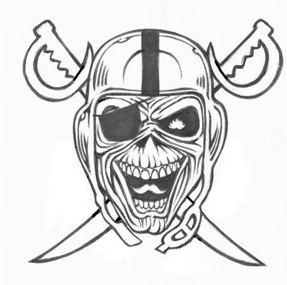 11+ oakland raiders tattoos ideas