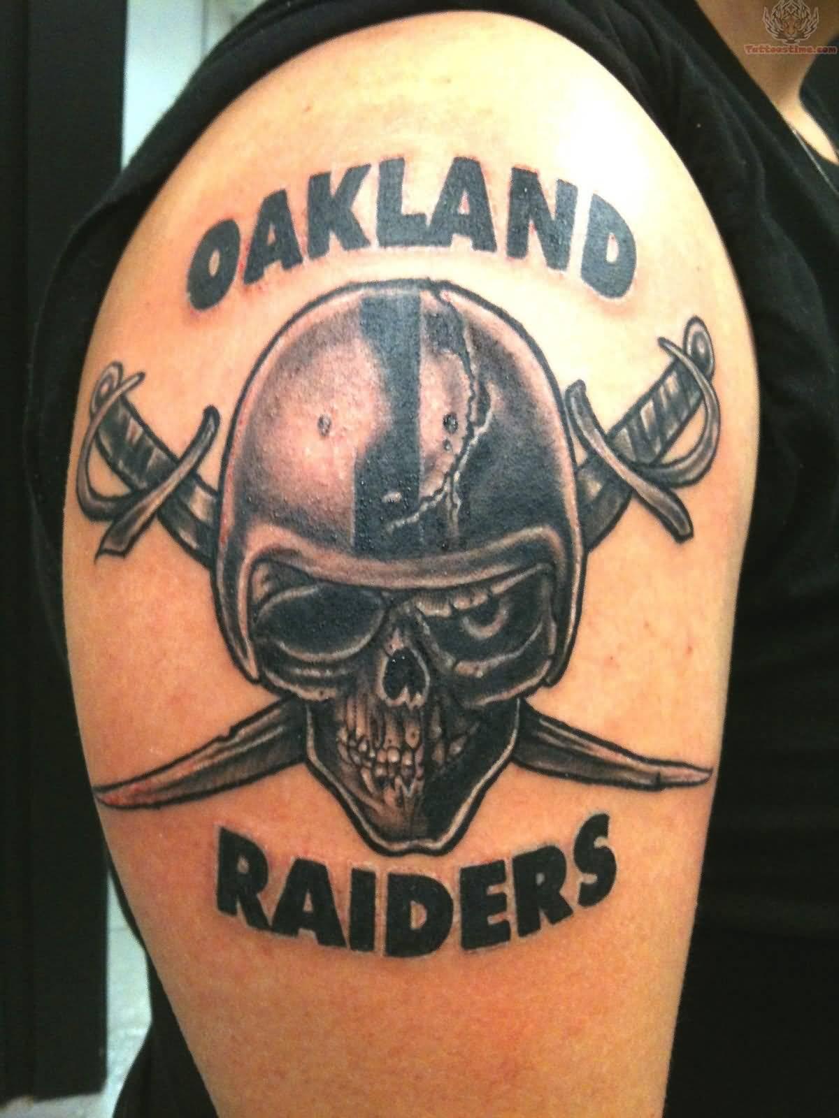 52 best oakland raiders tattoos for Oakland raiders tattoo