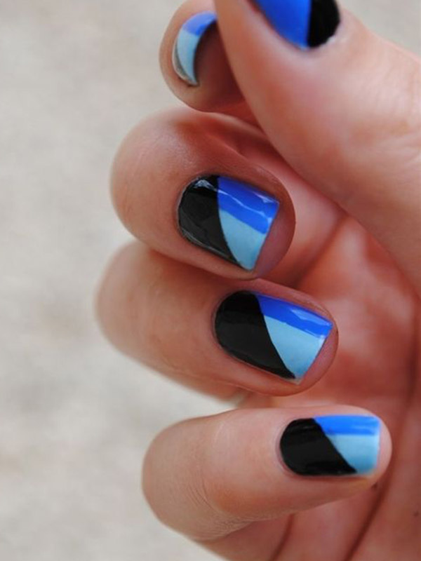 Art Designs: 50 Latest Geometric Nail Art Designs