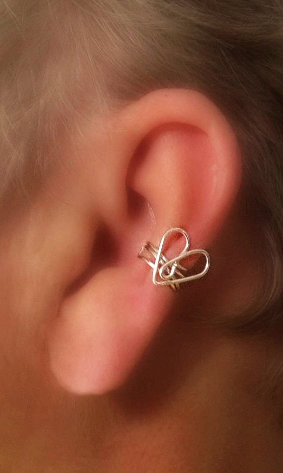 40 Beautiful Ear Heart Piercing Pictures