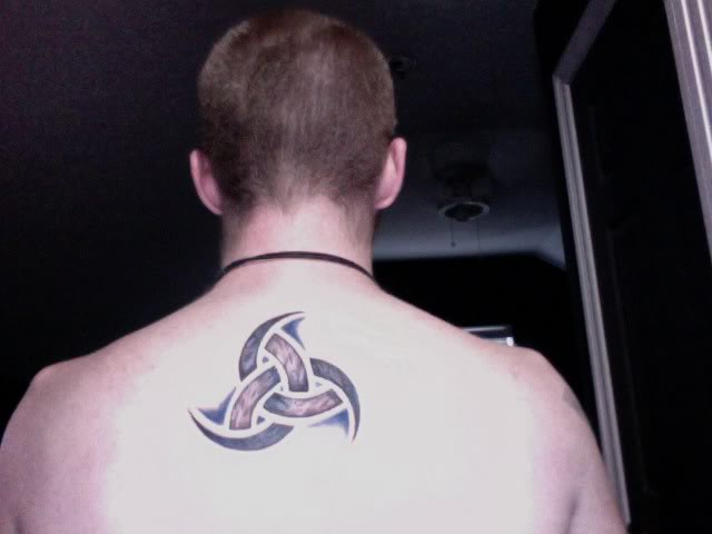 12 Horns Of Odin Tattoo