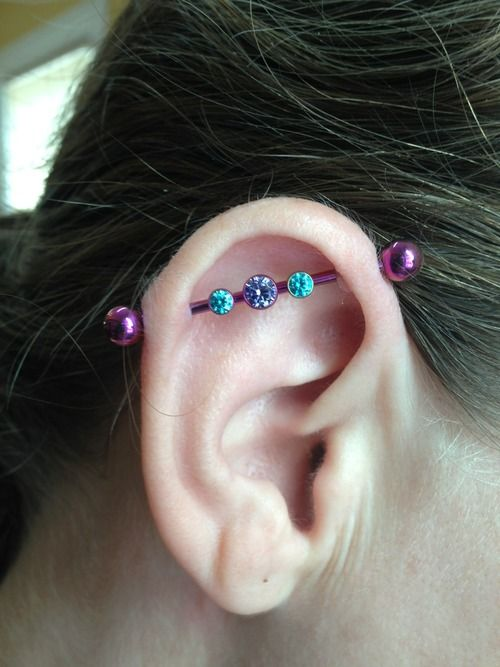 40 Amazing Custom Industrial Piercings