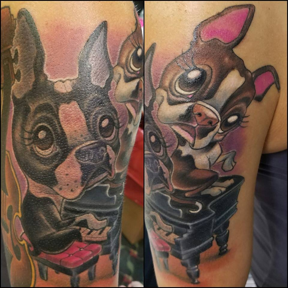 puppies tattoos 37 puppy paw tattoos and ideas 3156