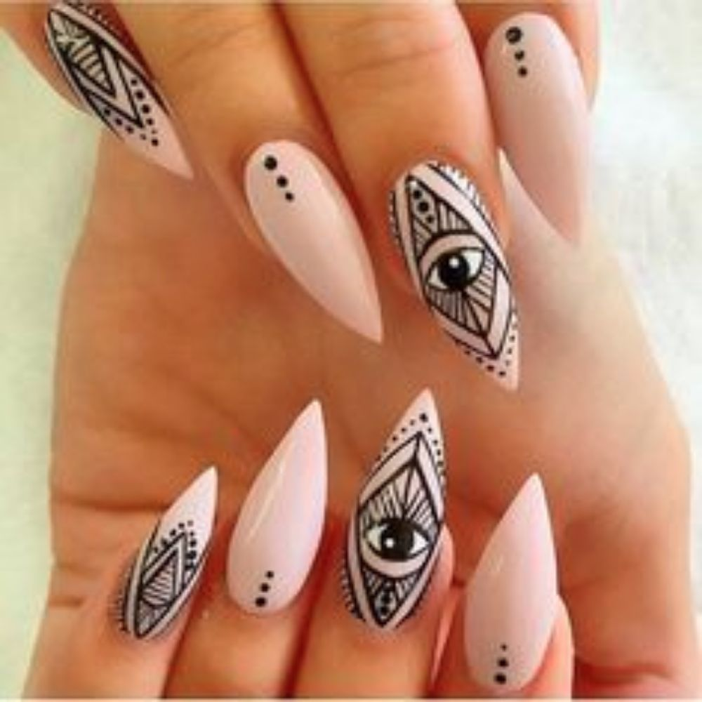 Eye nail design image collections nail art and nail design ideas eye nail  design images nail - Eye Nail Art Graham Reid