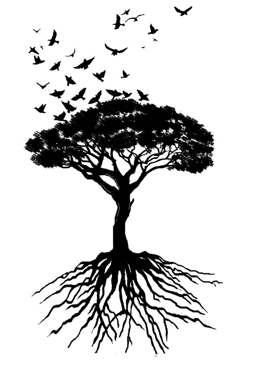 45 tree of life tattoo designs. Black Bedroom Furniture Sets. Home Design Ideas
