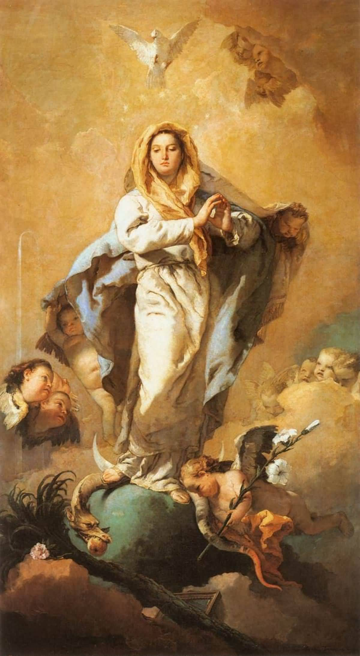 Blessed Virgin Mary Vow Of Virginity