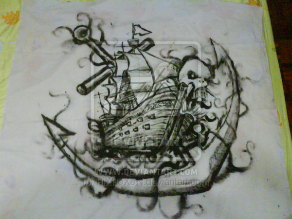 9 pirate ship tattoos designs. Black Bedroom Furniture Sets. Home Design Ideas