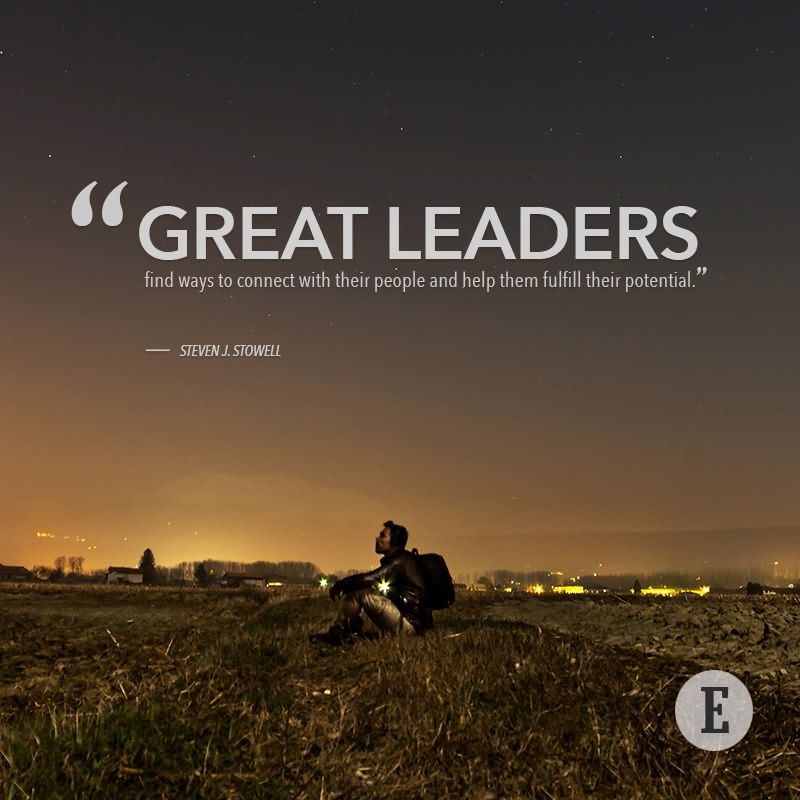 a leader for all to follow 1 the 21 indispensable qualities of a leader: becoming the person others will want to follow john c maxwell if you can become the leader you ought to be on the inside, you will be able to.