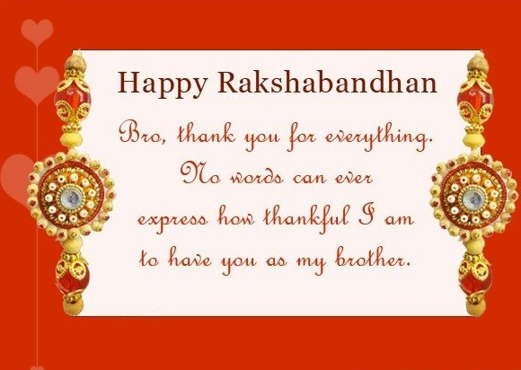 15 best thank you message on raksha bandhan happy rakshan bandhan bro thank you for everything no words can ever express how thankful i m4hsunfo