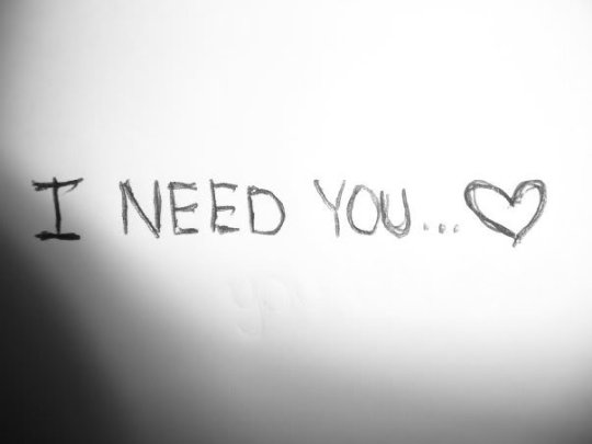 And I Want You And I Need You