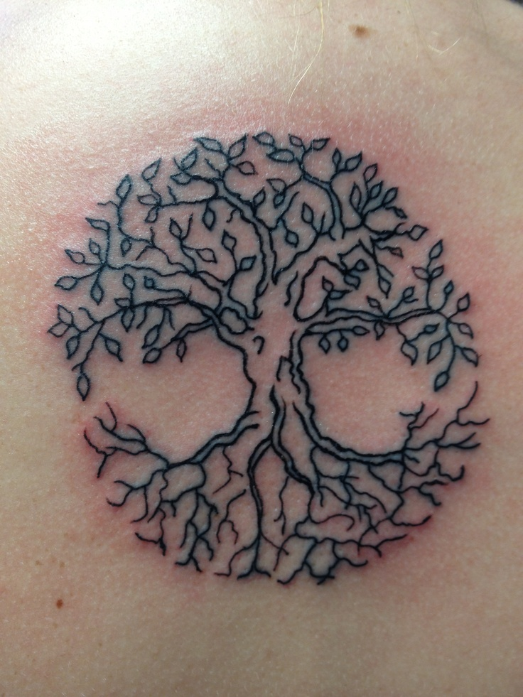 Impressive Tree Of Life Tattoo