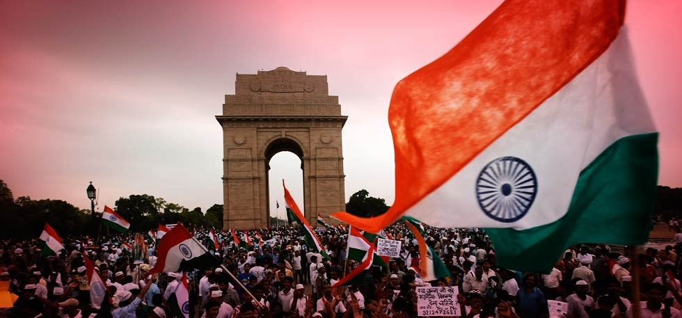 India, 70 years on from independence: a painful history but a bright future?
