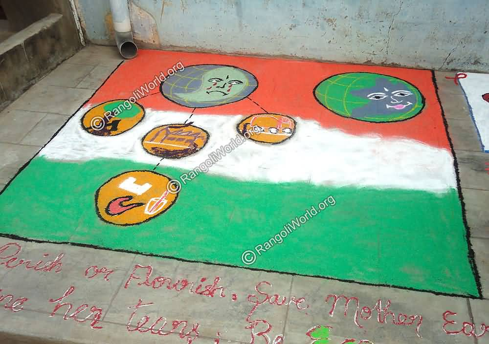 45 Very Beautiful Rangoli Design Ideas For Indian Independence Day