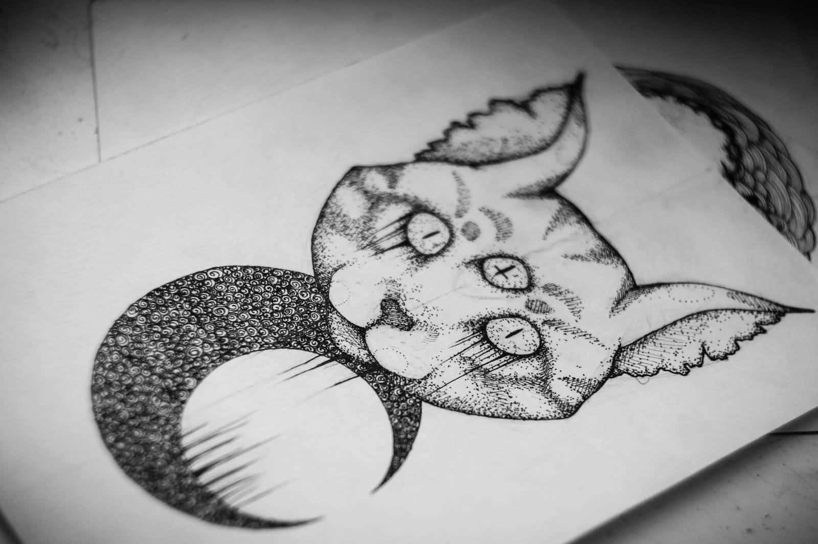 satanic pentagram tattoo the image kid has it. Black Bedroom Furniture Sets. Home Design Ideas
