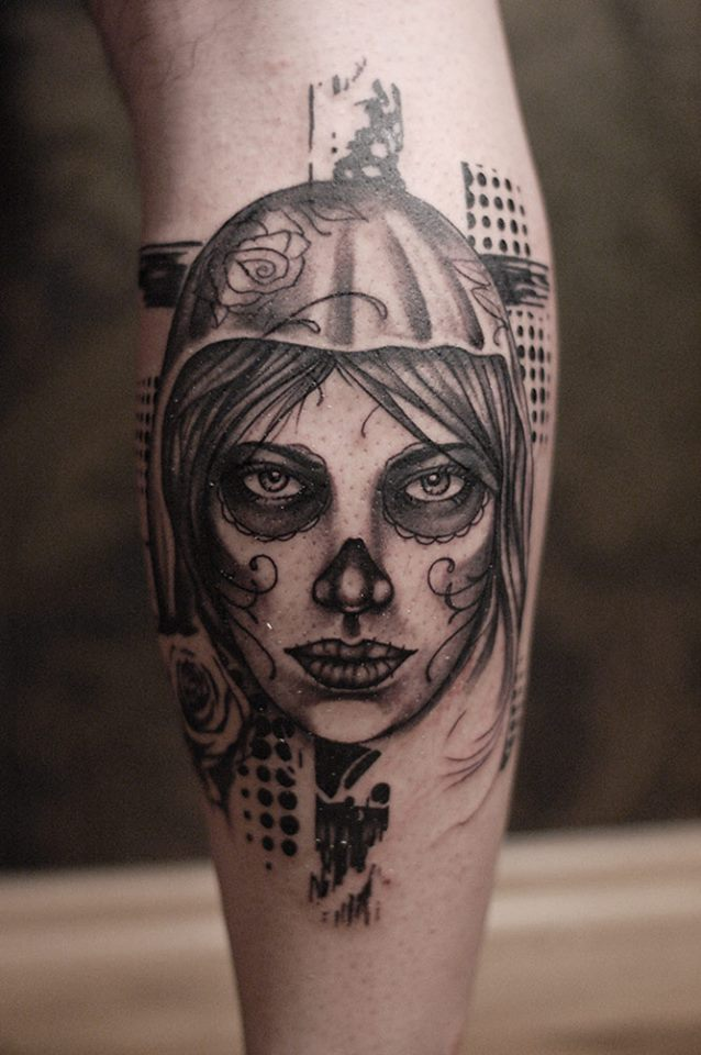 15 catrina tattoos on forearm. Black Bedroom Furniture Sets. Home Design Ideas