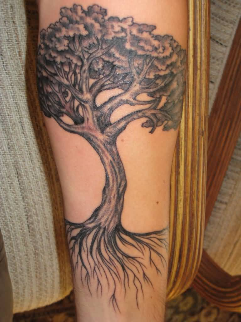 Tree Of Life Tattoo With Heart Roots: 32+ Tree Of Life Tattoos On Sleeve