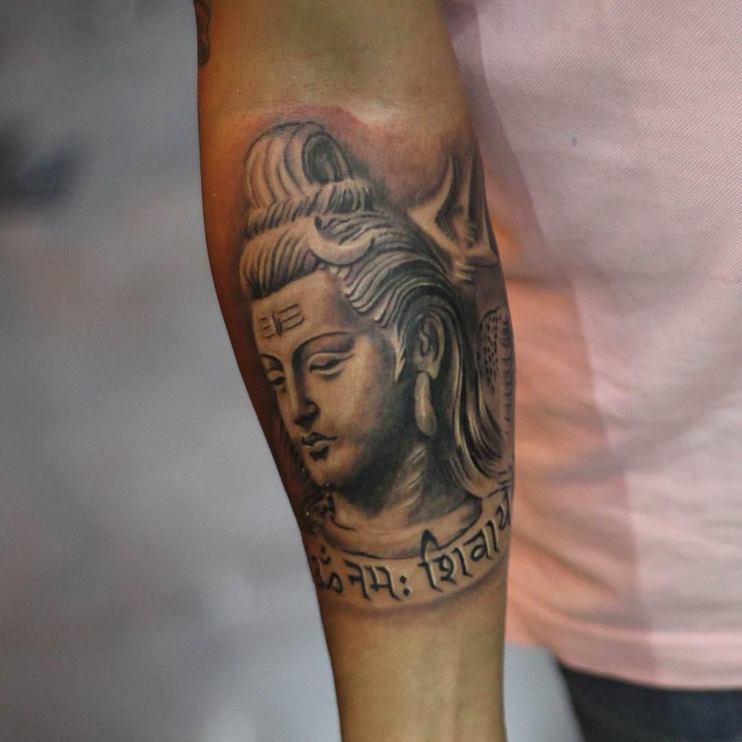 Hindu Forearm Tattoos Www Topsimages Com