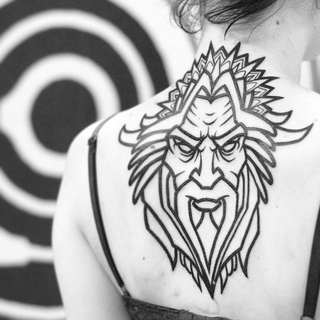 Tattoo Ideas God: 26+ Pagan Tattoos On Back