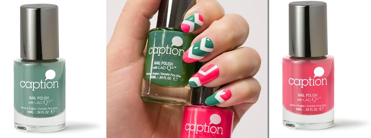 Caption Nail Polish Color Chart - Creative Touch