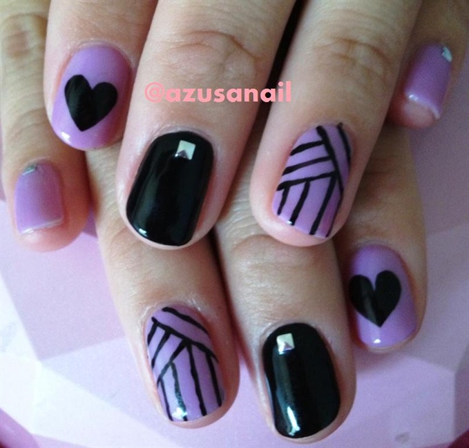 Lovely Nail Art Designs Videos For Beginners Big Cheap Shellac Nail Polish Uk Shaped Cute Toe Nail Art Designs Fimo Nail Art Tutorial Youthful Nail Art Degines DarkNail Art New Images 55 Best Purple Nail Art Designs