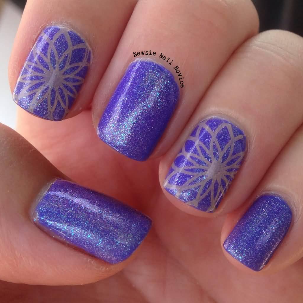 Trendy Purple Nail Art Designs: 65 Latest Purple Nail Art Designs For Trendy Girls