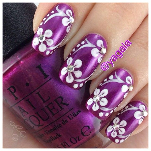 Nice Nail Art Designs Videos For Beginners Thin Cheap Shellac Nail Polish Uk Solid Cute Toe Nail Art Designs Fimo Nail Art Tutorial Youthful Nail Art Degines BlackNail Art New Images 55 Best Purple Nail Art Designs