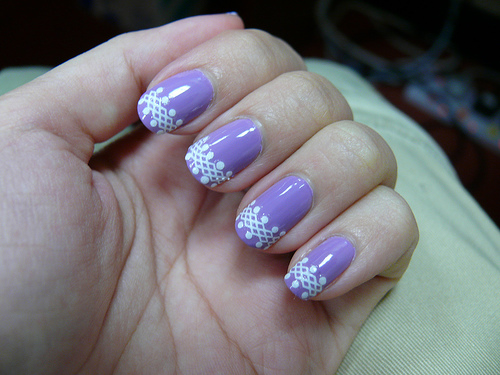 55 Best Purple Nail Art Designs