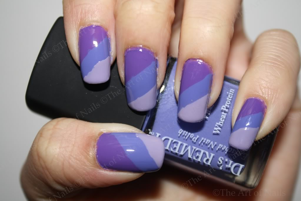 Light purple nail art image collections nail art and nail design purple nail polish designs gallery nail art and nail design ideas 55 best purple nail art prinsesfo Images