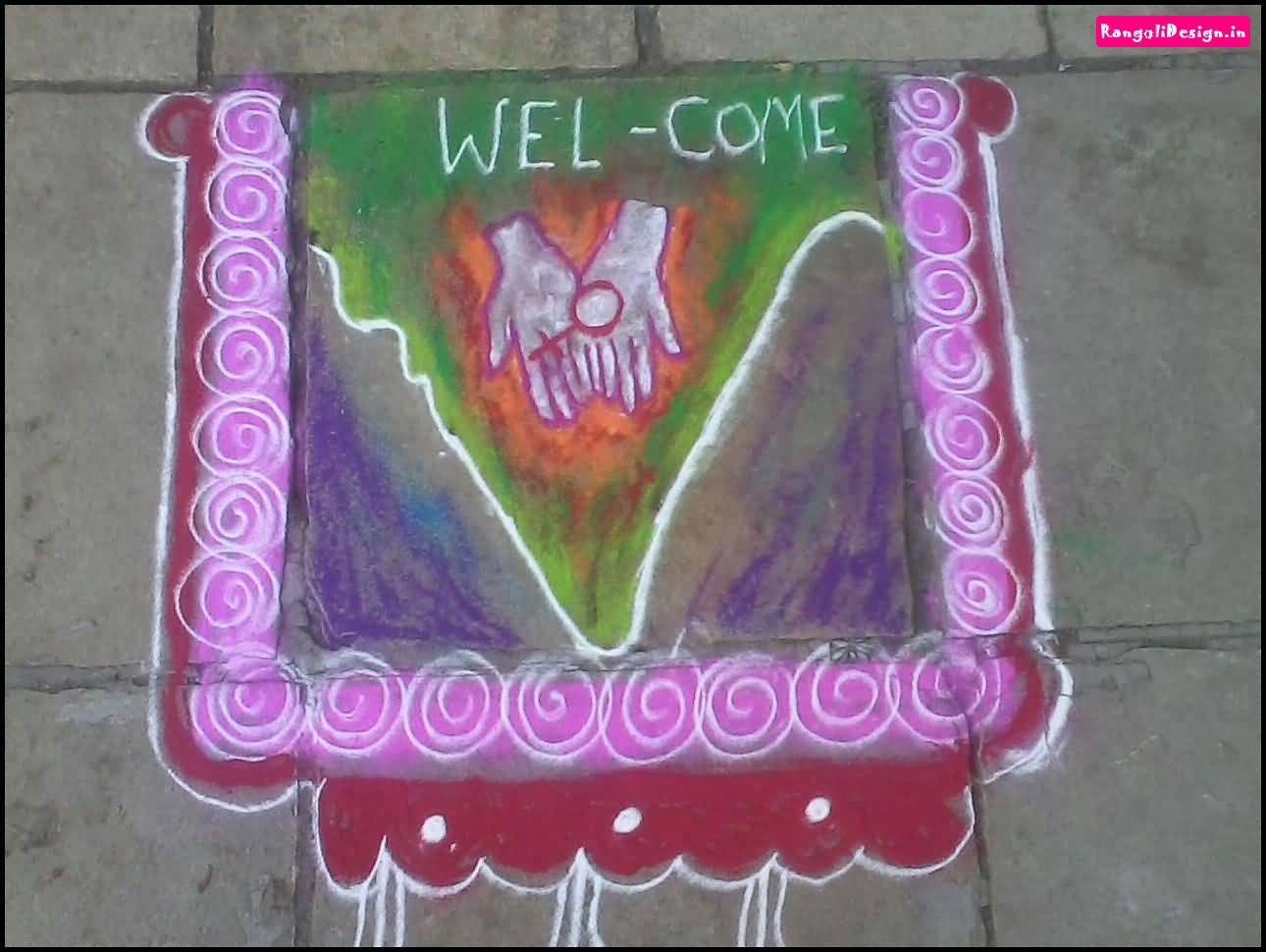 Rangoli Design For Independence Day