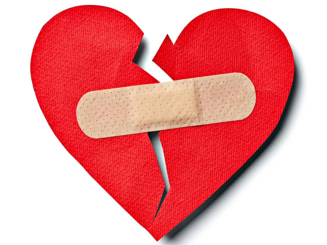 Broken Bandaged Heart Picture