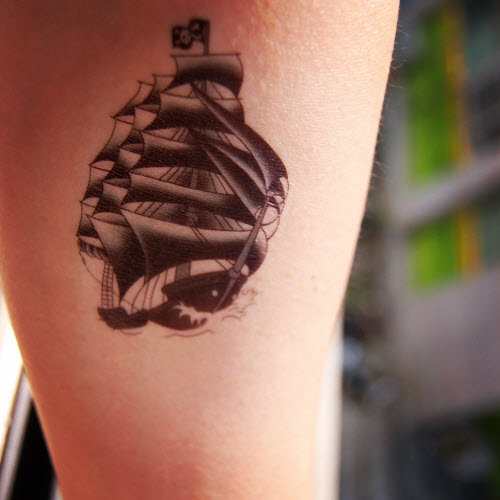 100 Small Ship Tattoo The 25 Best Ship Tattoos Ideas On