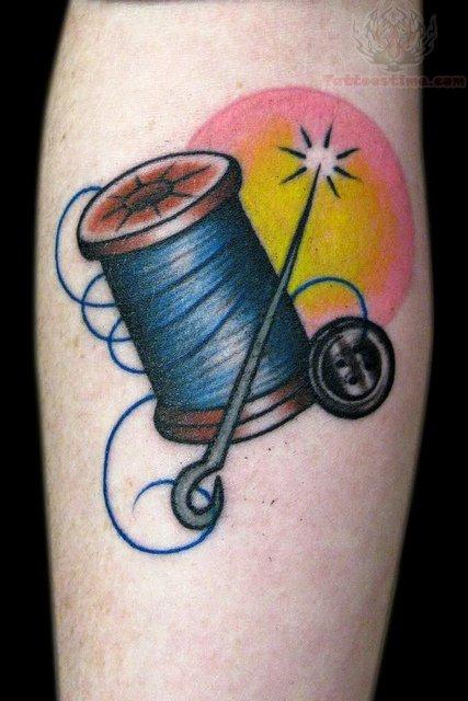 32+ Fantastic Spool Tattoos
