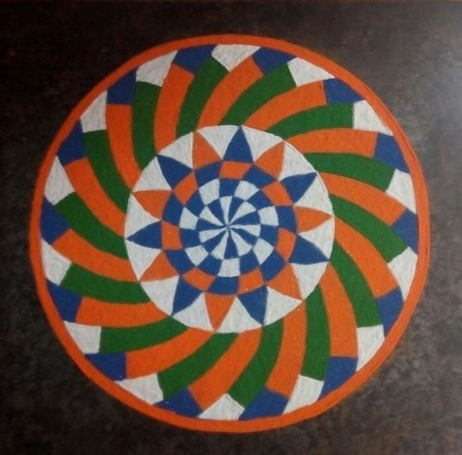 Flag Design Ideas the meaning of the australian flag our global classroom Tri Color Rangoli Design For Independence Day