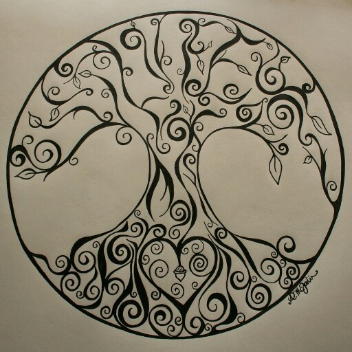 Tribal Tree Of Life: 26+ Tree Of Life Tattoo Stencils And Ideas