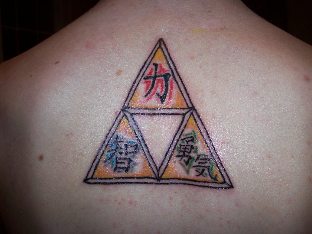 69 incredible strength tattoos triforce strength tattoo on upper back biocorpaavc
