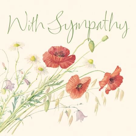with sympathy card for you - Deepest Sympathy Card