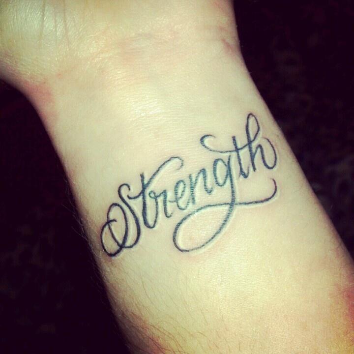 22+ Nice Wrists Strength Tattoos