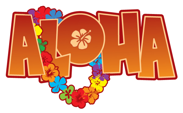 Aloha From Hawaii Clipart