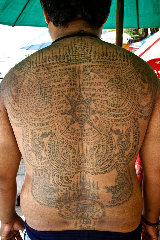 55 thai tattoos collection for Thailand tattoo meaning